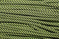Шнур 5мм спираль (100м) черный+салат, фото 1