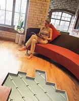 Підлогове покриття при використанні теплої підлоги