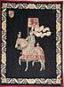 Французские гобелены (Рыцарь на темном фоне)