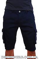 Бриджи джинс мужские NORTH RIVER C-312 тёмно-синие, фото 1