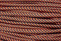 Шнур 5мм спираль (100м) оранжевый + т.синий, фото 1
