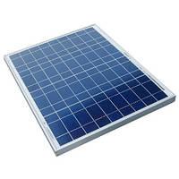 Cолнечная батарея (панель) 30Вт,  поликристаллическая