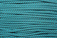 Шнур 5мм спираль (100м) т.серый+мор.волна, фото 1