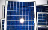 Cолнечная батарея (панель) 40Вт, поликристаллическая