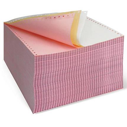 Бумага перфорированная многослойная * 240мм 3-х шар 420компл, фото 2