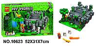 """Конструктор Minecraft Bela 10623 """"Храм в джунглях"""", 604 дет"""