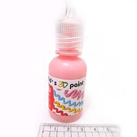 Краска 3D 30ml светло-розовая