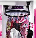 Шафа валізу Барбі Рожевий Barbie Fashionistas Closet DMT57, фото 6