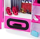 Шафа валізу Барбі Рожевий Barbie Fashionistas Closet DMT57, фото 7