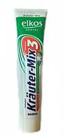 Зубная паста лечебная на травах Kräuter-Mix ELKOS,125мл. Пр-во Германия.