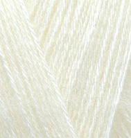 Пряжа Alize ANGORA GOLD для ручного вязания мохеровая кремовый №01