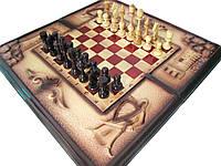 Шахматы из дерева,ручная работа, фото 1