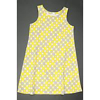 Платье для девочки подростка 16-10 круги