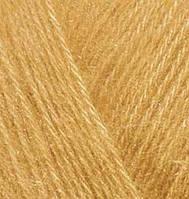 Пряжа Alize ANGORA GOLD для ручного вязания мохеровая шафран №02