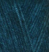 Пряжа Alize ANGORA GOLD для ручного вязания мохеровая петроль №17