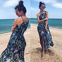 Крутая женская пляжная  туника,в расцветках