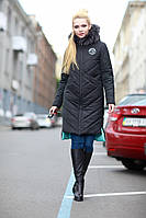 Зимнее пальто Монтана енот, разные цвета р 42-56