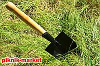 Лопата сапёрная складная из высококачественной стали 1.8мм