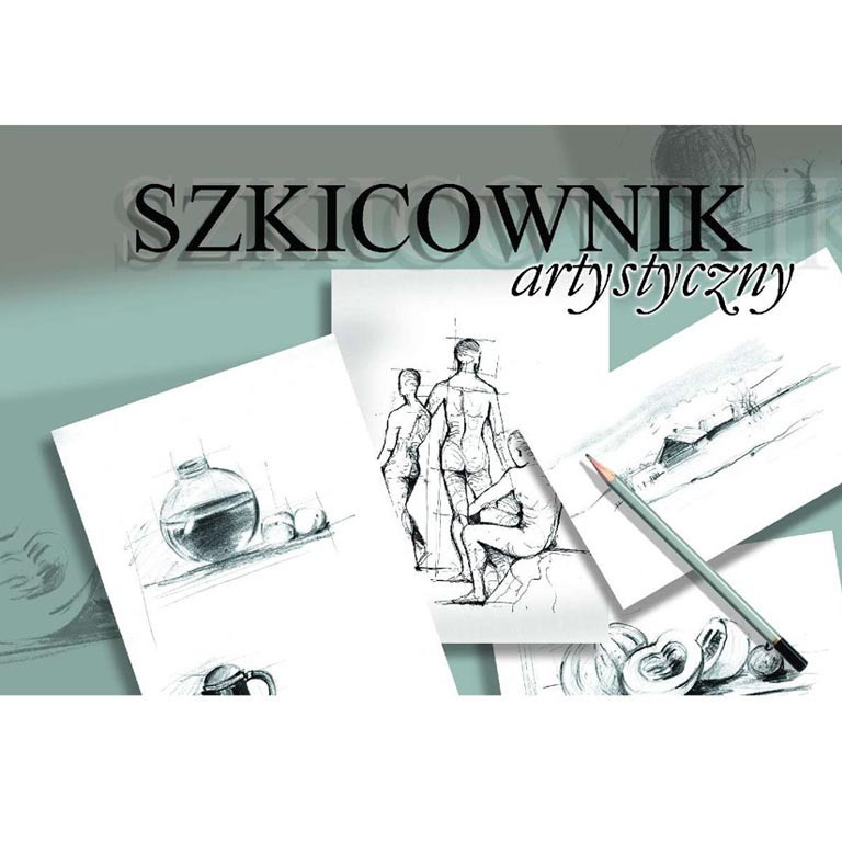 Альбом для художественных работ Kreska 16P520937 А6 100л (10,50х14,85см), 120г/м2