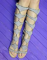 Высокие римские сандалии