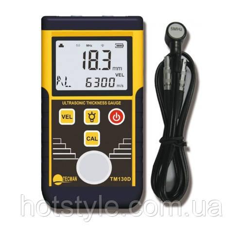 Толщиномер TM130D цифровой ультразвуковой 1.2-220мм