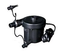 Электрический насос 220В, компрессор для надувных матрасов, бассейнов, лодок, кроватей, В наличии