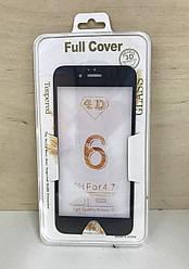 Защитное 3D стекло для iPhone 6/6S (Black)