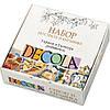 Набор для росписи стекла и керамики Decola, акриловые краски, 5 цв.+ 2 контура + разбавитель