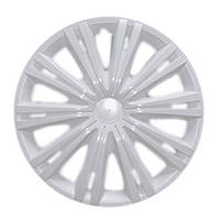 Колпаки колес Star Гига Белая R16 (2 штуки) передние дутые