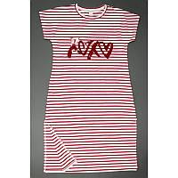 Платье для девочки подростка 17-01 полоска