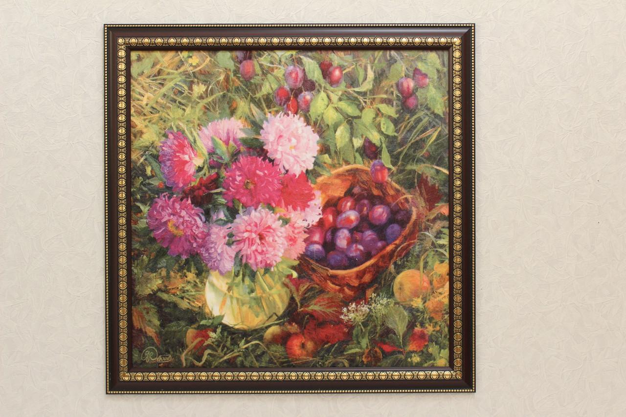 """Картина """"ягоды и цветы"""""""