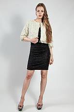 Платье женское вечернее черное короткое ONLY, фото 3