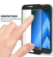 Защитное стекло с рамкой Samsung J710 тех. упаковка