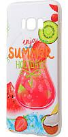 Чехол для Samsung Galaxy S8 (G950) с принтом летние каникулы