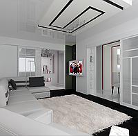 Дизайн-проект гостиной, Гостиная 3