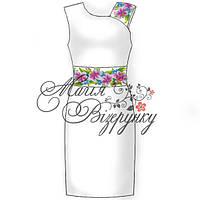 Заготовка под вышивку женского платья без рукава