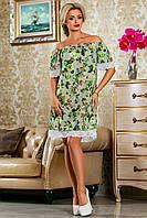 Платье женское с открытыми плечами в 5ти цветах SV 2244-2252, фото 1