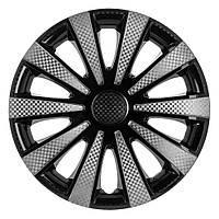 Колпаки колес Star Карат Super Black R15 (карбон) , фото 1