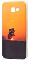 Чехол для Samsung Galaxy A5 2017 (A520) IMD с рисунком дерево на закате
