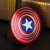 Спиннер Щит Капитана Америки, fidget spinner Captain America