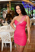 Платье№АТ4 малина (ГЛ), фото 1