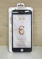 Защитное 3D стекло для iPhone 6 Plus (Black)