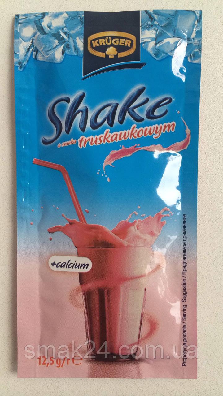Коктейль-напиток Shake (Шейк) с клубничным вкусом Kruger Польша 12,5г