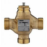 Трехходовой смесительно-распределительный клапан DN25 Herz