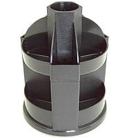 Подставки для ручек Спектр ПНВ-1 черный для ручек вращ черн пластик   высота-140 мм., диаметр-110 мм.
