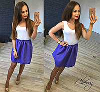 Расклешенная летняя юбка, фото 1