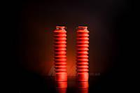 Гофра вилки 250 мм LIPAI красная