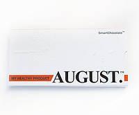 Шоколад натуральный с апельсином и миндалём 80 г, August