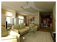 Дизайн проект гостиной, Гостиная 5