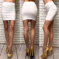 Облегающая мини юбка женская